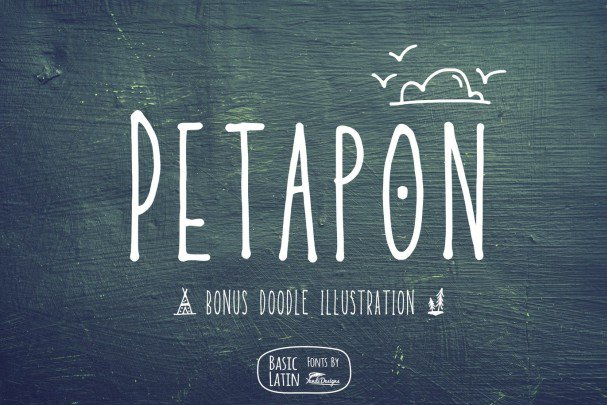 Download Petapon Fun Font font (typeface)