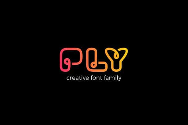 Download PLY font family font (typeface)