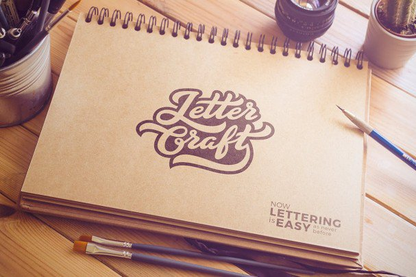 Download Letter Craft font (typeface)