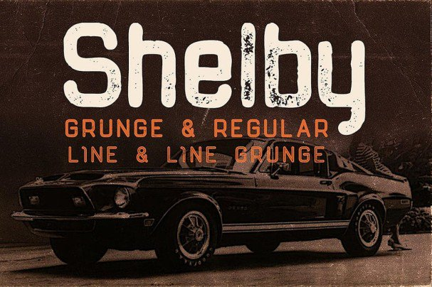 Download Shelby Typeface font (typeface)