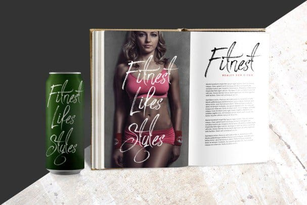 Download Strongloves - Handwritting font (typeface)