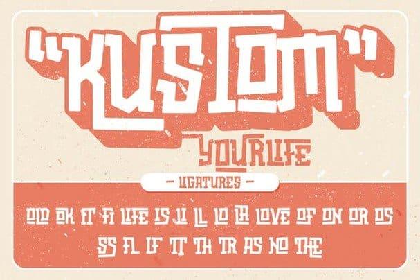 Download Oldstar Typeface font (typeface)