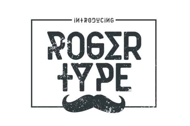 Download Rogertype font (typeface)