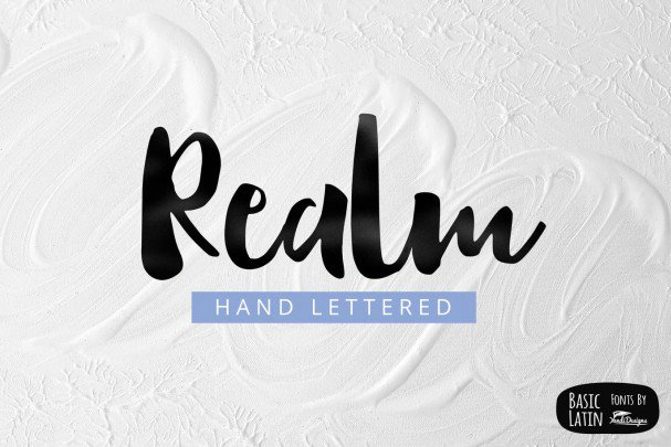 Download Realm font (typeface)