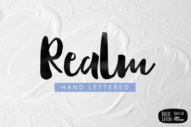 Download Realm Font font (typeface)