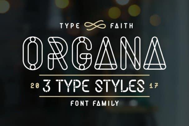 Download Organa Caps font (typeface)