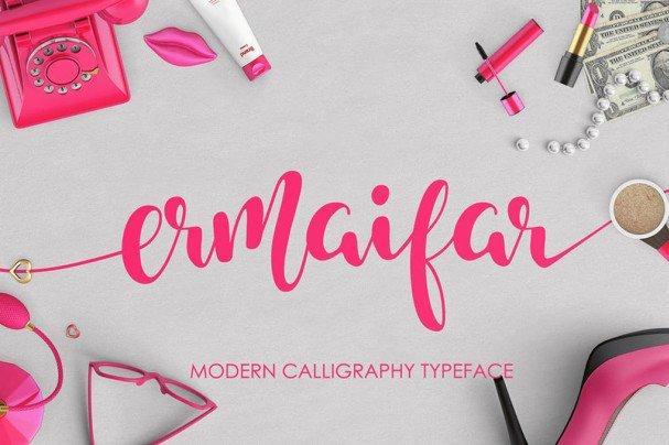 Download Ermaifar font (typeface)