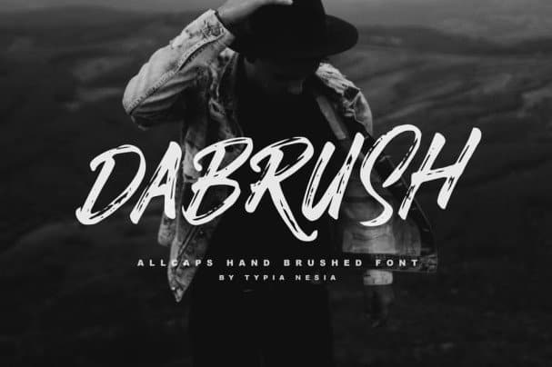 Download Da Brush font (typeface)