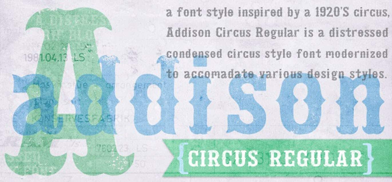 Download Addison Typeface font (typeface)