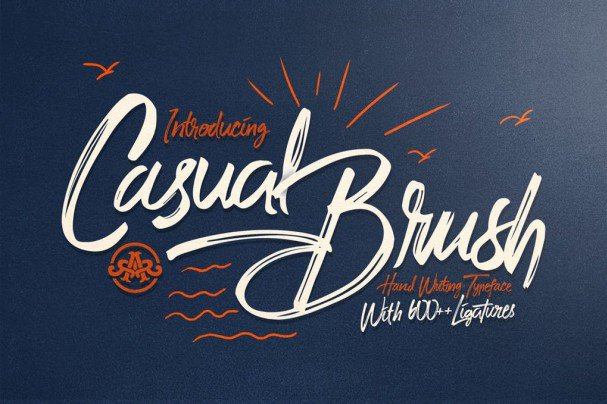 Download Casual Brush font (typeface)
