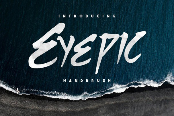 Download Eyepic Typeface font (typeface)