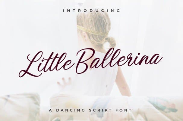 Download Little Ballerina font (typeface)