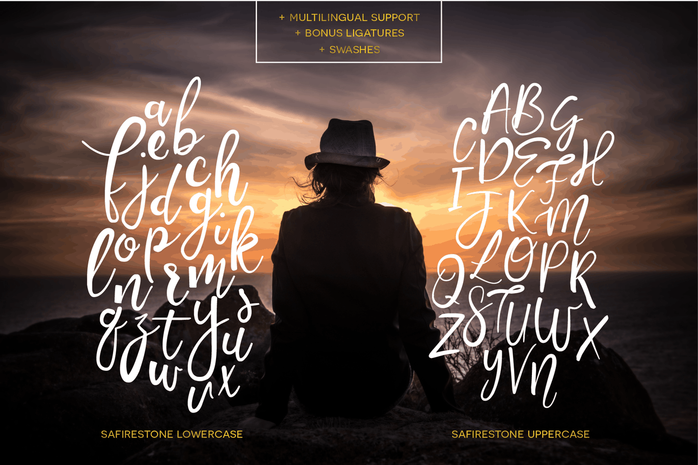 Download Safirestone font (typeface)