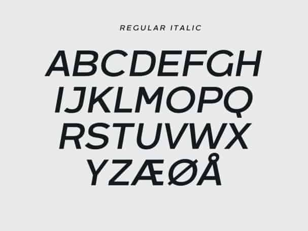 Download Arkibal Sans font (typeface)