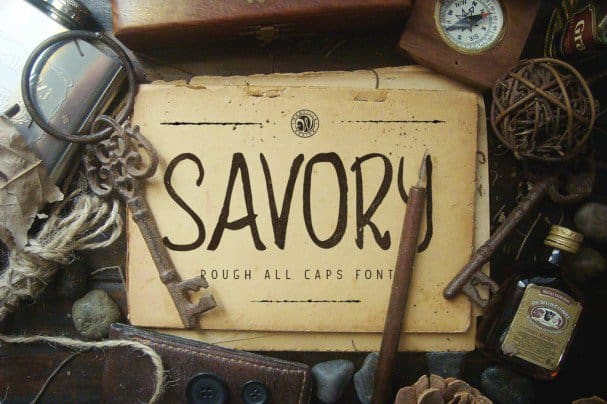 Download Savory font (typeface)