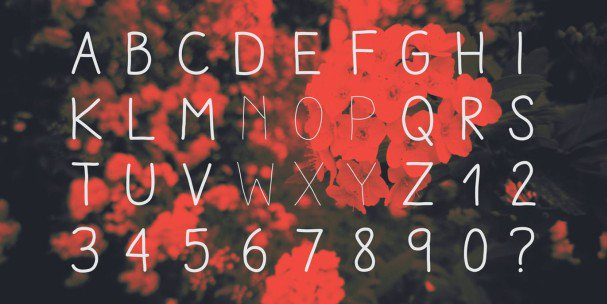 Download Aracne font (typeface)