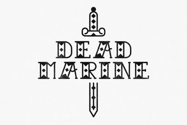 Download Dead Marine font (typeface)