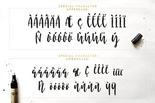 Download Nicoline font (typeface)