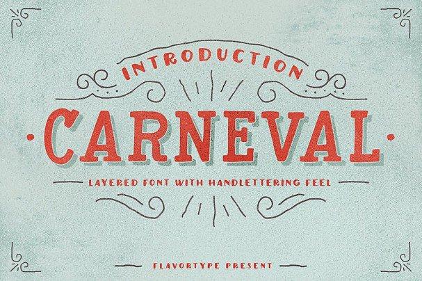 Download Carneval font (typeface)