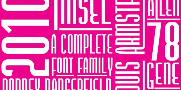 Download Tinsel font (typeface)