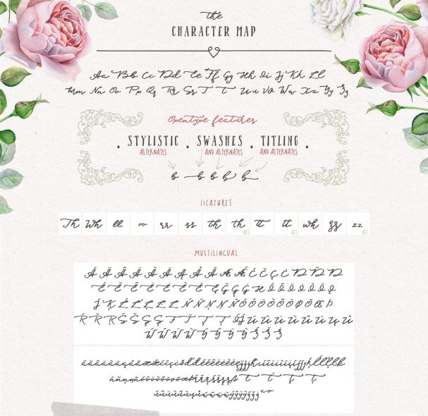 Download Blessed Script font (typeface)