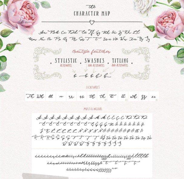 Download Blessed Script font (typeface)