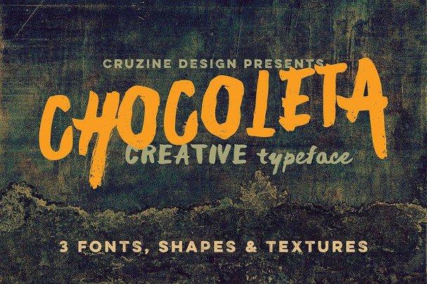 Download Chocoleta font (typeface)