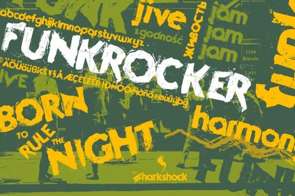 Download Funkrocker font (typeface)