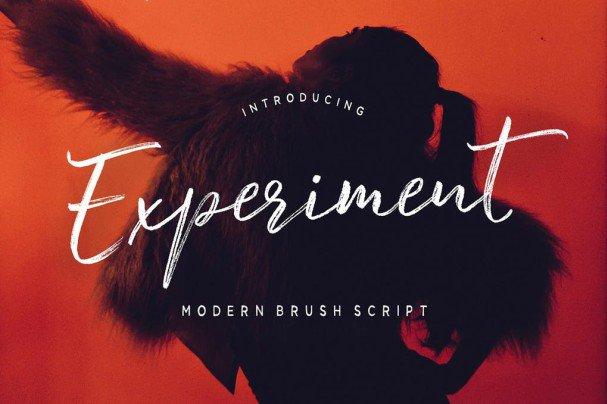 Download Experiment Brush Script font (typeface)