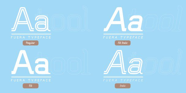 Download Fuera font (typeface)