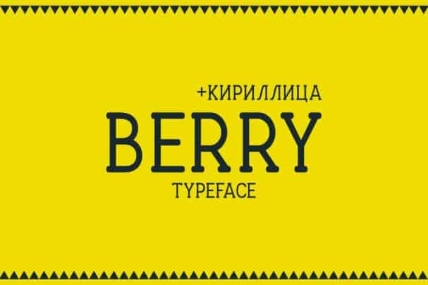 Download Berry Typeface font (typeface)