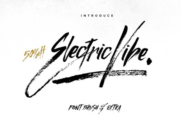 Download Electric Vibe font (typeface)