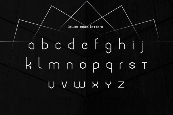 Download Cornera Extended Font font (typeface)