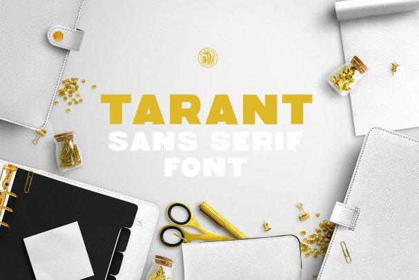 Download Tarant Font font (typeface)