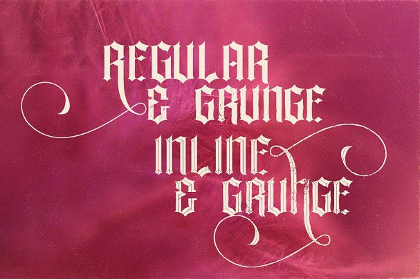 Download La Forest Typeface font (typeface)
