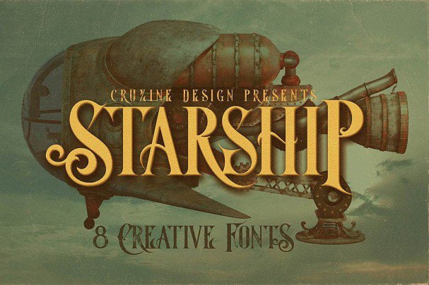 Download Starship Typeface font (typeface)