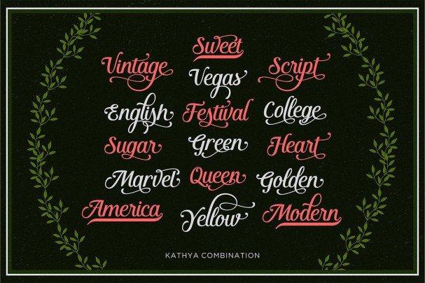 Download Kathya Script font (typeface)