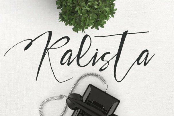 Download Kalista Typeface font (typeface)