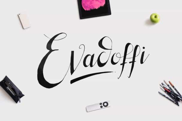 Download Evadoffi Typeface font (typeface)