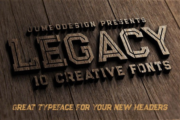 Download Legacy - Vintage Style font (typeface)