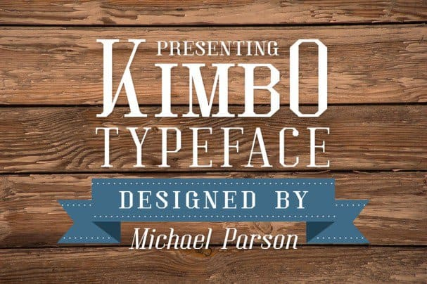 Download Kimbo font (typeface)