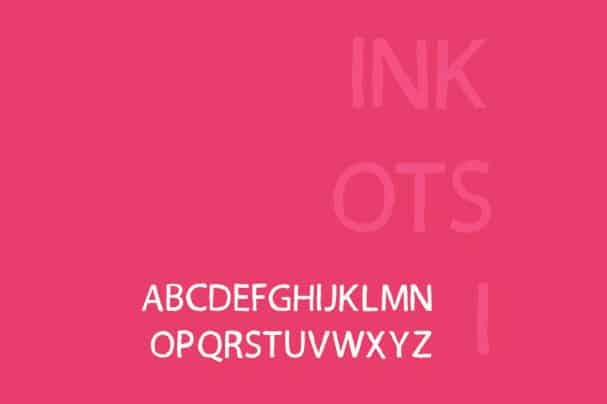 Download INKOTSI font (typeface)