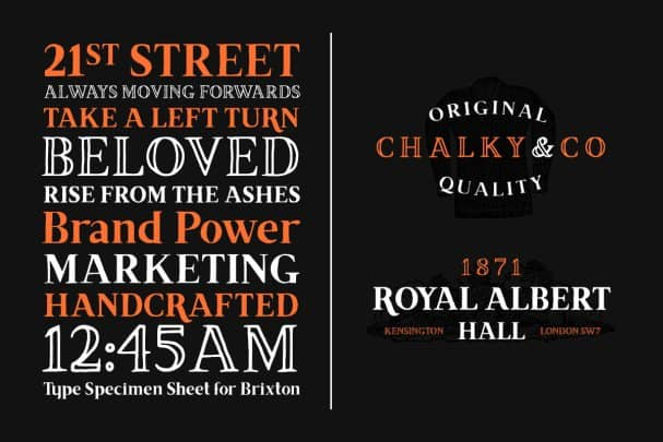 Download Brixton (Fill and Outline) font (typeface)