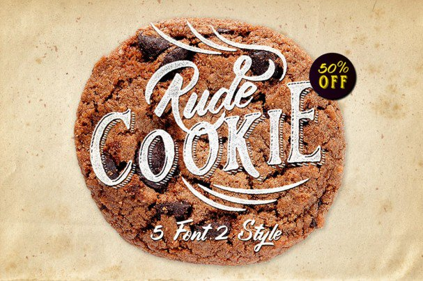 Download Rude Cookie Font Layer font (typeface)