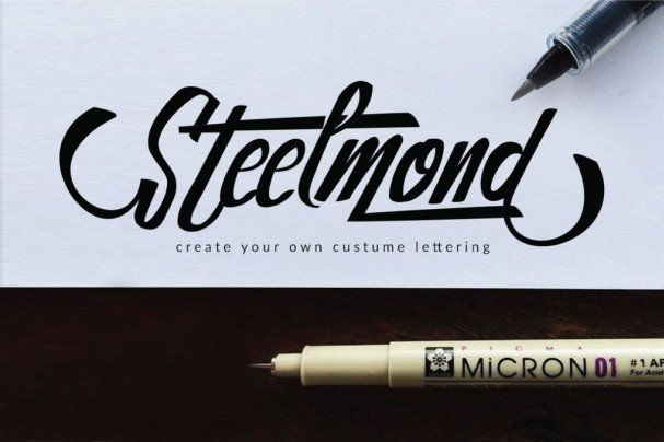 Download Steelmond font (typeface)