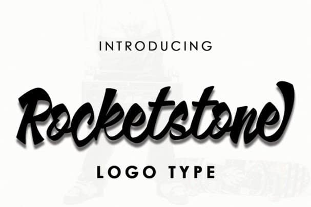 Download Rocketstone typeface font (typeface)