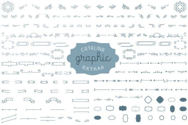 Download Catalina Extras font (typeface)