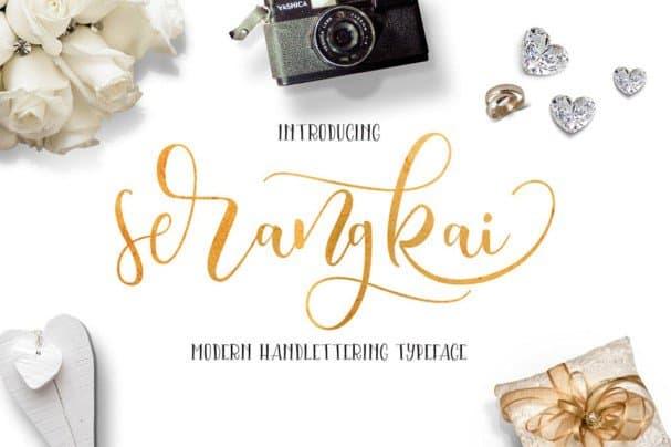 Download Serangkai Typeface font (typeface)