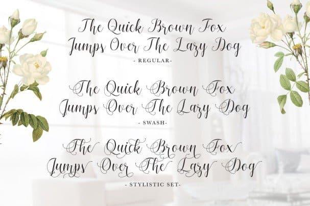 Download Bigshine Script font (typeface)