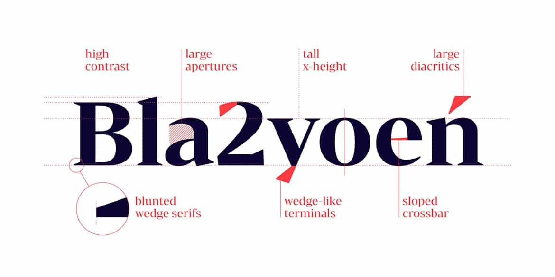Download Bw Darius font family font (typeface)